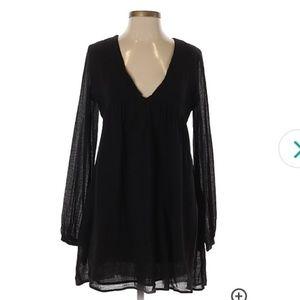 NWT Zara Boho Peasant Dress